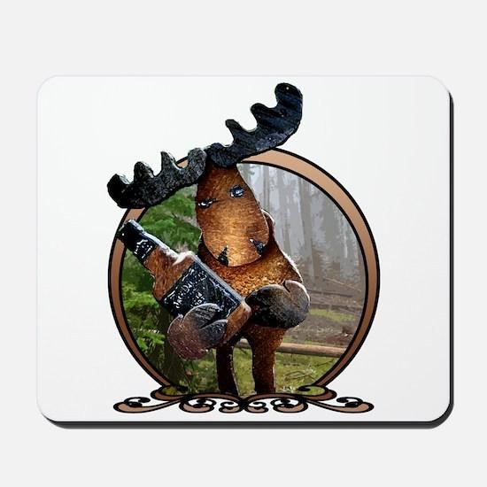 Party Moose Mousepad