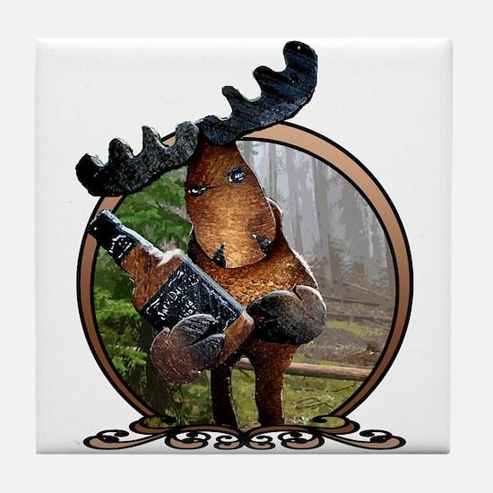 Party Moose Tile Coaster