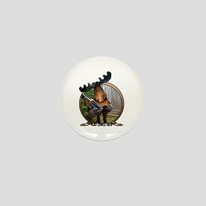 Party Moose Mini Button