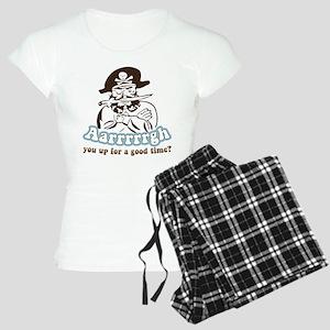Arrrrgh Funny Pirate Women's Light Pajamas