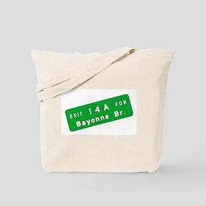 Exit 14A - Bayonne Bridge Tote Bag