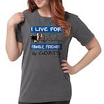 I Live For Goats Womens Comfort Colors® Shirt