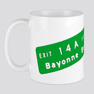 Exit 14A - Bayonne Bridge Mug