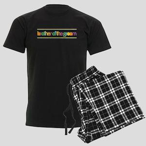 Funky Type Groom's Brother Men's Dark Pajamas