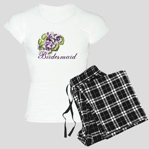 Floral Bridesmaid Women's Light Pajamas