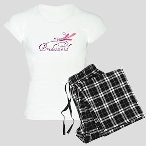 Pink/Purple Deco Bridesma Women's Light Pajamas