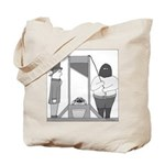 Turtle Guillotine Tote Bag