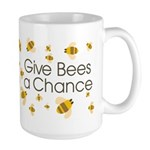 Give Bees a Chance Large Mug