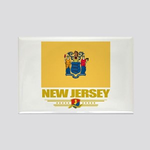 New Jersey Pride Rectangle Magnet