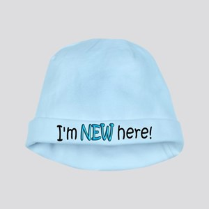 I'm New Here Baby Hat