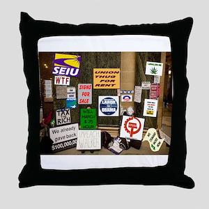 WRECKING CREW Throw Pillow
