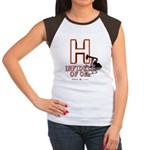 H Junior's Cap Sleeve T-Shirt