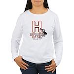 H Women's Long Sleeve T-Shirt