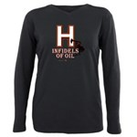 H Plus Size Long Sleeve Tee
