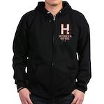 H Zip Hoodie (dark)