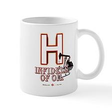 H 11 Oz Ceramic Mug Mugs