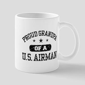 Proud Grandpa of a US Airman Mug