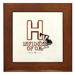 H Framed Tile