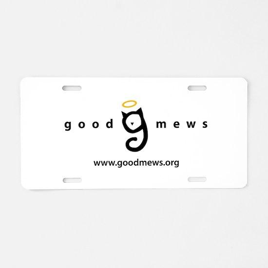 Good Mews Aluminum License Plate
