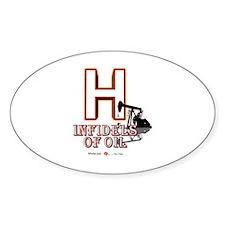 H Sticker (Oval)
