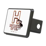H Rectangular Hitch Cover