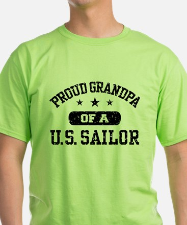 Proud Grandpa of a US Sailor T-Shirt