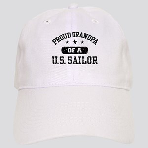 Proud Grandpa of a US Sailor Cap