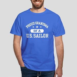 Proud Grandma of a US Sailor Dark T-Shirt