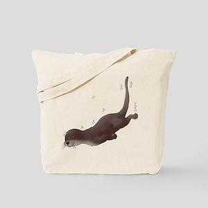 Otter Swim Tote Bag