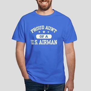 Proud Aunt of a US Airman Dark T-Shirt