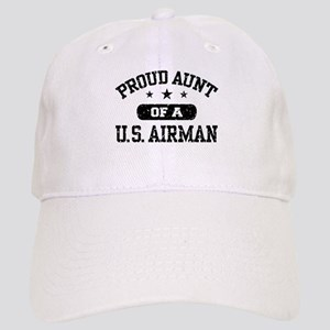 Proud Aunt of a US Airman Cap