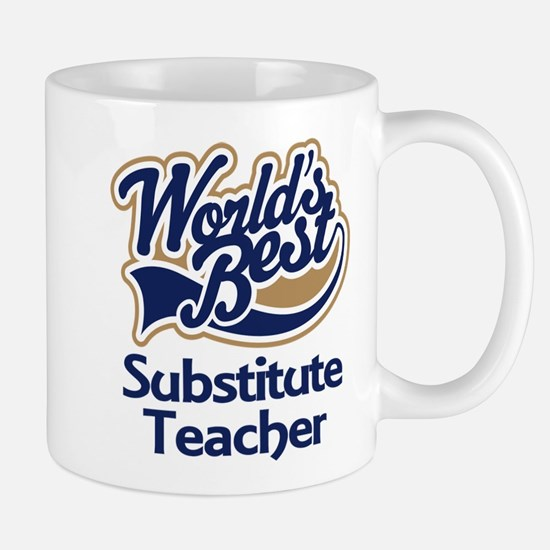 Substitute Teacher Mug