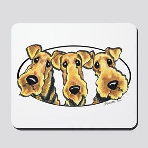 Airedale Terrier Lover Mousepad