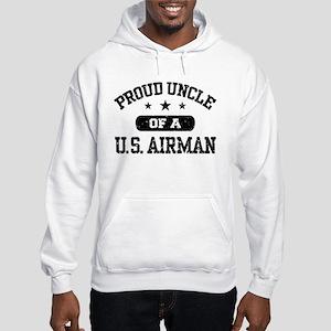 Proud Uncle of a US Airman Hooded Sweatshirt