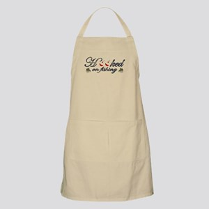 hooked on fishing Apron