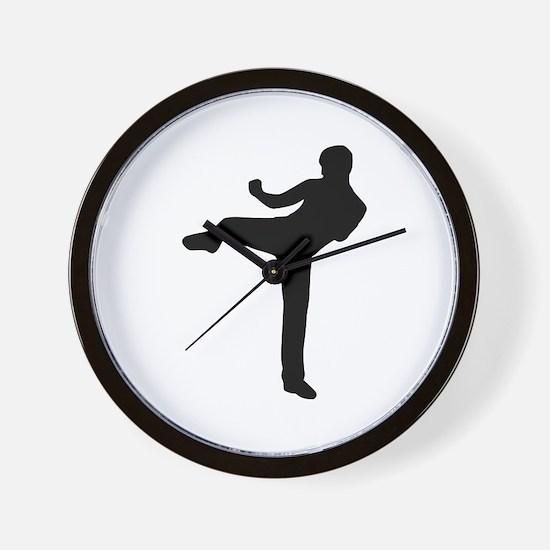 Kickboxing Wall Clock
