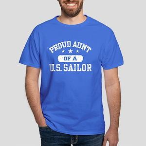 Proud Aunt of a US Sailor Dark T-Shirt