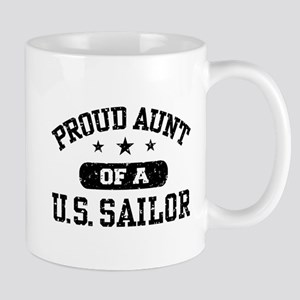Proud Aunt of a US Sailor Mug