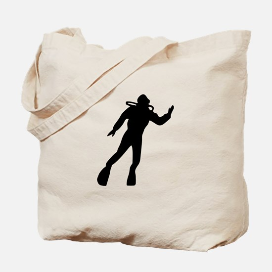 Scuba Diving Tote Bag