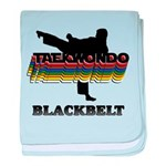Taekwondo Black Belt Colors baby blanket