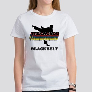 Taekwondo Black Belt Colors Women's T-Shirt