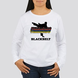Taekwondo Black Belt Colors Women's Long Sleeve T-