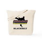 Taekwondo Black Belt Colors Tote Bag