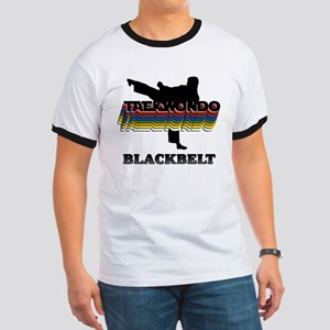 Taekwondo Black Belt Colors Ringer T