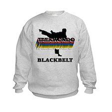 Taekwondo Black Belt Colors Kids Sweatshirt