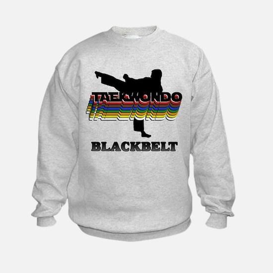 Taekwondo Black Belt Colors Sweatshirt