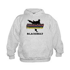Taekwondo Black Belt Colors Kids Hoodie