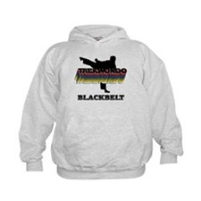 Taekwondo Black Belt Colors Kids Hoodie