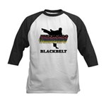 Taekwondo Black Belt Colors Kids Baseball Jersey