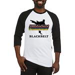 Taekwondo Black Belt Colors Baseball Jersey